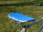 RS-18 RealSeat Extra Wide Bike Seat in Blue